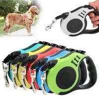 35 meters retractable dog leash automatic roulette leash nylon traction belt extendable rope leash for cat dog accessories