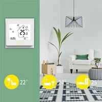Thermostat Temperature Controller Floor Heating Water Gas Boiler Water Electric WiFi Smart Works for Home Accessories