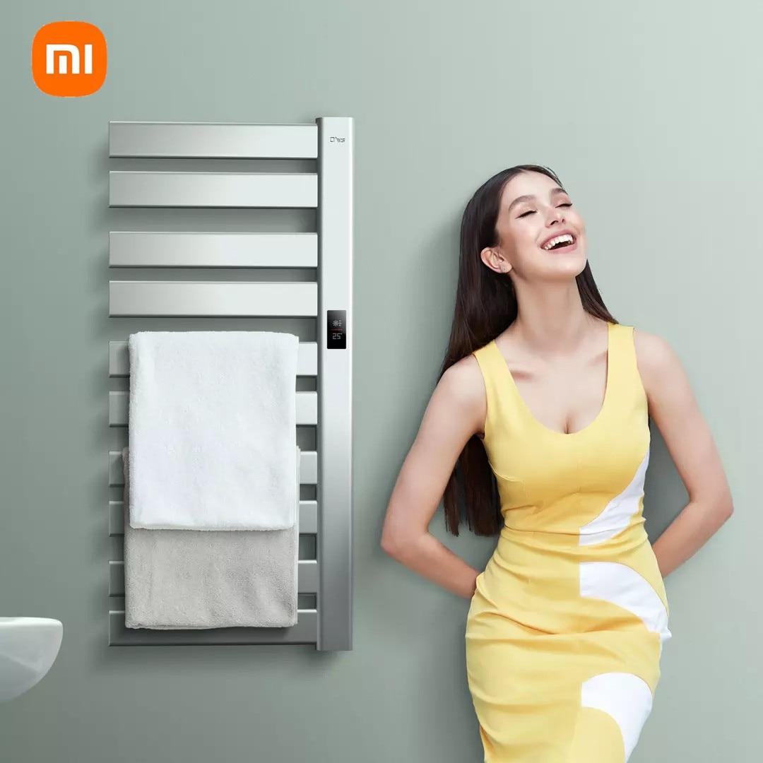 Mijia Ows التدفئة الكهربائية المناشف رف ذكي درجة حرارة ثابتة العمل مع Mijia الذكية توقيت تعقيم وإزالة Mijt