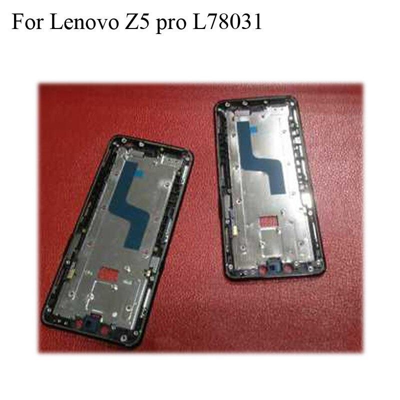 """6,39 """"para Lenovo Z5 pro Original LCD soporte pantalla frontal marco para Lenovo Z5pro L78031 carcasa marco medio lenovoZ5 pro"""