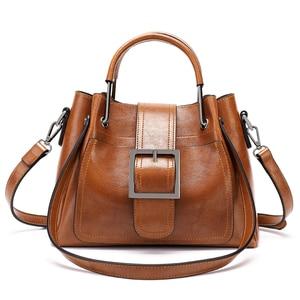LAN LOU Women Bag Shoulder bag For women 2020 High Quality Fashion Leather Bags New Rivet handbag Ladies Casual Crossbody Bags