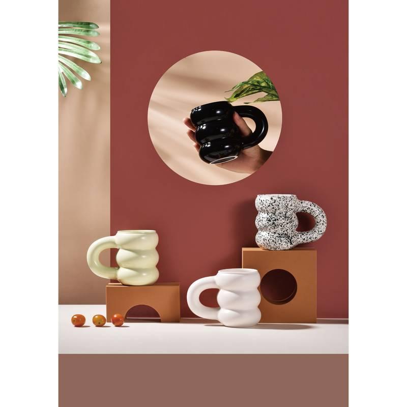 أكواب خزفية Mich ملونة إبداعية ، كوب ماء للحليب ، الشاي ، القهوة ، العصير ، المكتب ، المنزل ، أدوات الشرب