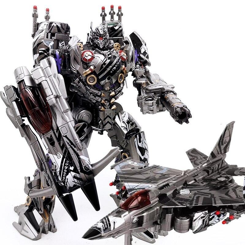 BMB LS01S Seibertron fantasma Nitro Zeus transformación negro Mamba LS-01 KO aleación figura Robot colección niños regalo Juguetes