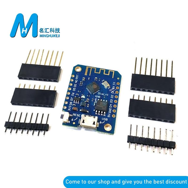 Wemos d1 Mini CH340 CH340G V3.0 3.0 Wireless WIFI Internet of Things Development Board Based ESP8266 4MB For Arduino Nodemcu V2