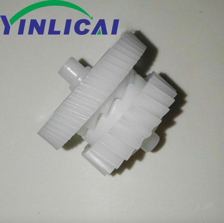 100 قطعة RU6-0018 RU6-0018-000 فوزر محرك والعتاد 23T 56T ل HP P1505 P1505n M1120 M1120n M1522 M1522n 1505 1120 1522
