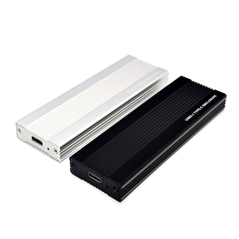 M2 SSD حالة NVME USB SSD الضميمة SSD مربع M.2 حالة محول USB 3.1 الجنرال 2 الخارجية M 2 مربع ل NVME M مفتاح 2242/2260/2280 M2 حالة