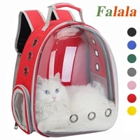 pet carrying bag breathable cat portable travel outdoor space capsule carrier kittentransport backpack for cats and small dogs