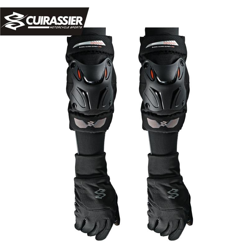 Cuirassier K01-2 Motorcycle Knee Guard Knee Protector Support Knee Pads Safety Protective Gear Motocross Cycling Elbow Protector enlarge