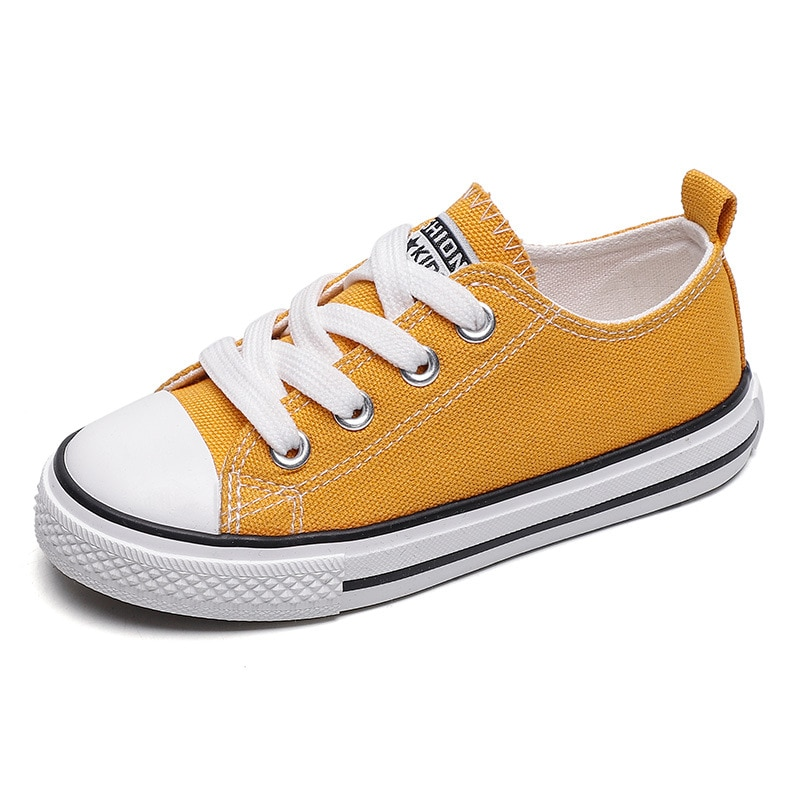 Childrens Canvas Shoes 2020 Baby Casual Cloth Parent-child Flats Student Family Mother Father Matching