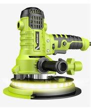AC220V 810W 180mm portable wall polishing machine, hand-held sanding machine, dust-free self-priming, adjustable speed