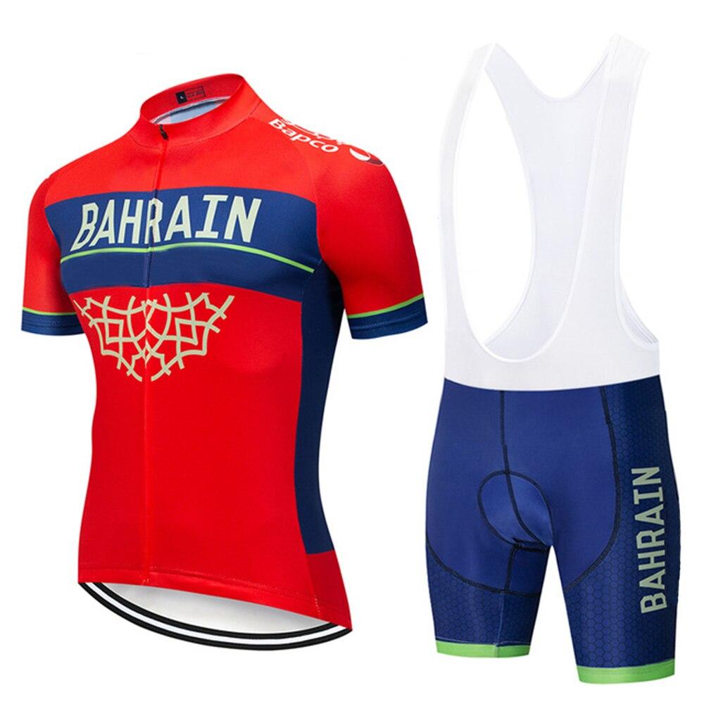 Nuevo equipo de 2020 Bahrein ropa de ciclismo jersey 9D bicicleta pantalones...
