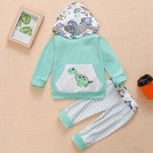 Новинка осени 2020, детская одежда, костюм с капюшоном, комбинезон для новорожденных мальчиков и девочек, детская Рождественская одежда, бути...