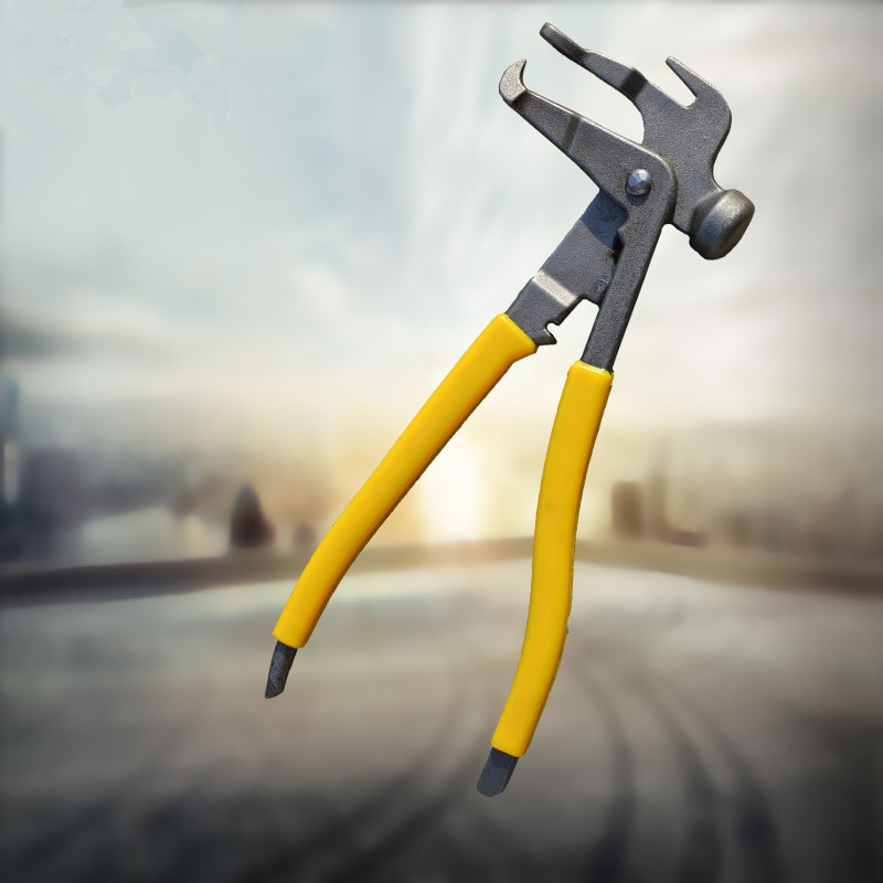 Alicates para reparación de neumáticos de coche, pinzas para reparación de ruedas de coche, alicates para quitar el peso y el equilibrio de neumáticos, herramientas metálicas profesionales