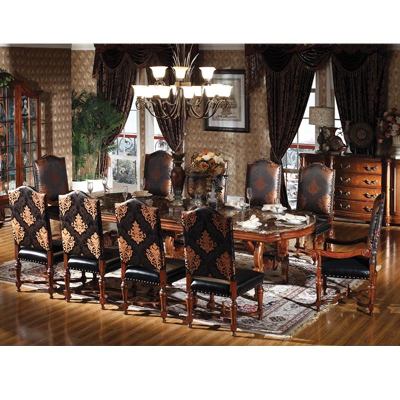 Italy antique design Luxury furniture set long 10 seater dining tables Lange 10 sitzer esstische GH162