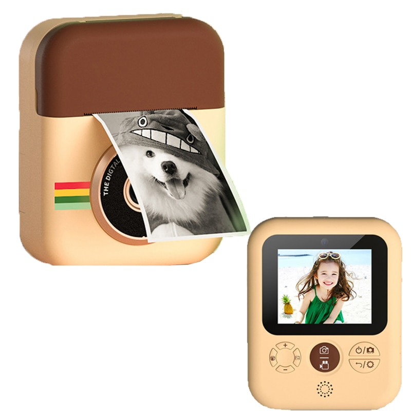 Children Instant Print Camera For Kids Girls 1080P HD Digital Video Camera With Print Photo Paper Birthday Gifts Child Camera enlarge