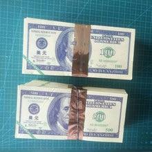 Argent de lancêtre monnaie esprit   80 pièces, Dollar 100 $ ou 500 $ Joss papier banque ciel, Feng Shui Notes Ghost Hell prière