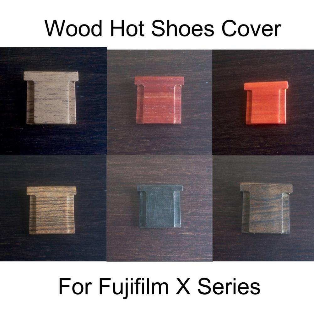 Wood Hot Shoe Cover For Fujifilm Fuji XT2 XT3 XT20 XT30 X-PRO2 X100F X100V FujiFilm Series Camera Accessories
