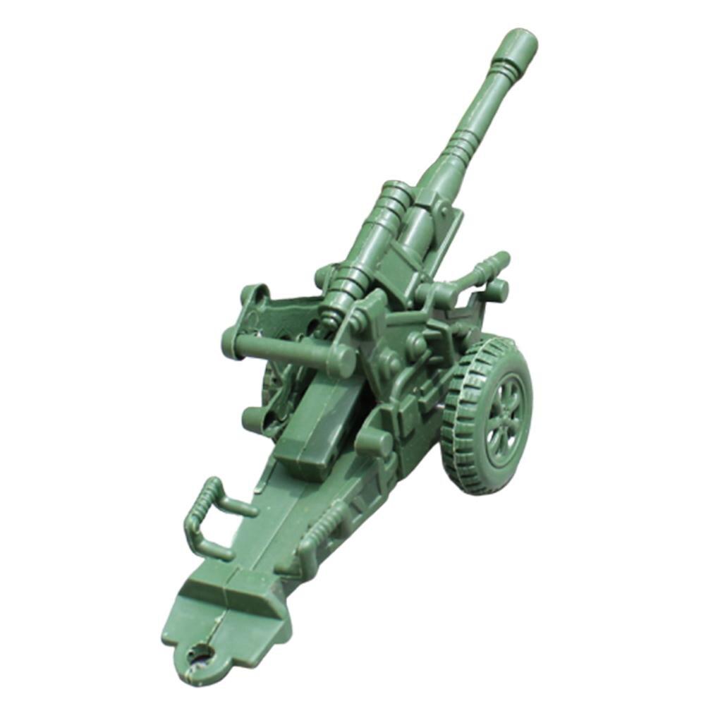 Mortero de dos ruedas para niños, mortero militar de dos ruedas, juguete para niños