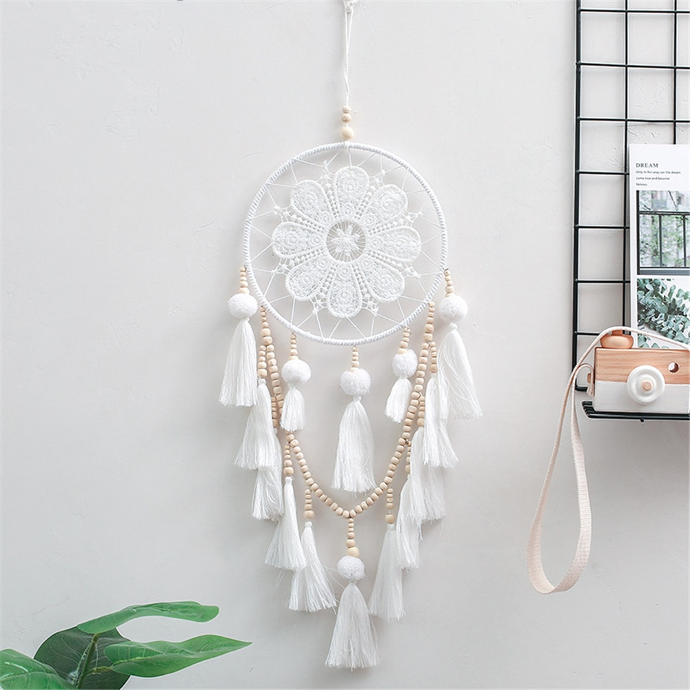 Handmade Dream Catcher Wind Chimes Home Hanging Craft Gift Dreamcatcher Ornament Car Hanging Bedroom