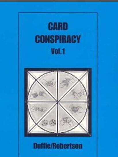 Tarjeta de confabulación Vol 1 de Peter Duffie.-instrucciones en línea de trucos de magia