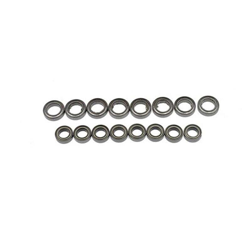 for MN86S MN86 MN86KS MN86K MN G500 16PCS Steel Bearing 9X5X3 11X7X3 Upgrade Accessories 1/12 RC Car