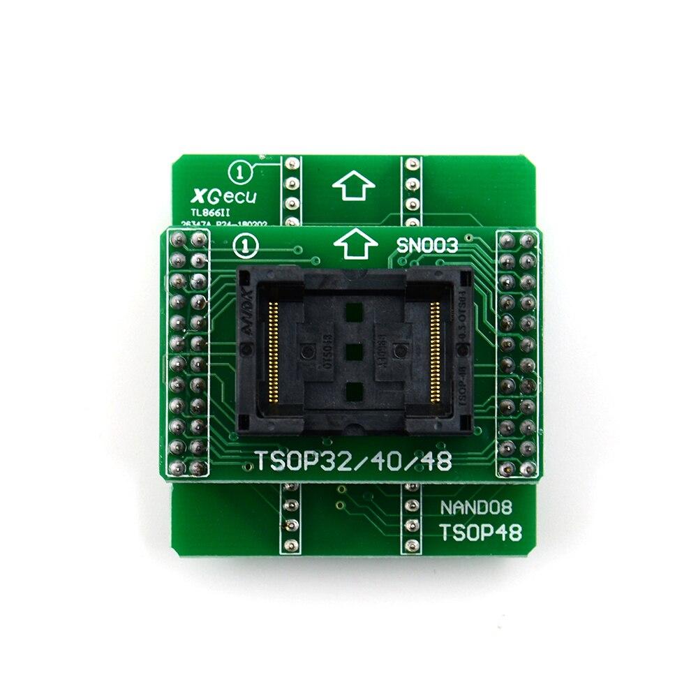2020 envío gratis 100% Original TSOP48 NAND adaptador de enchufe solo para programador TL866II Plus