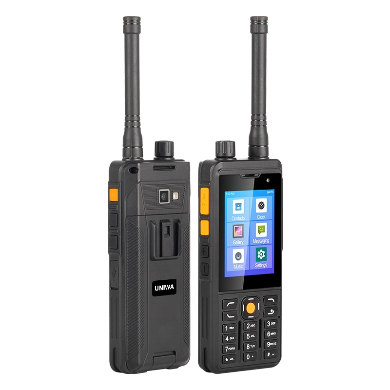 UNIWA P5 DMR/Analog Walkie Talkie Mobile Phone Android 9.0 LTE 4G Smartphone UHF 400-480mhz 1GB 8GB Cellphones POC Zello 5300mAh enlarge