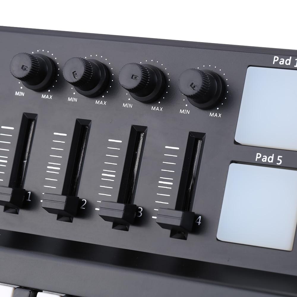 MIDI Keyboard MIDI Piano Keyboard Worlde PANDAMINI Drum Mini 25-Key USB Keyboard And Drum Pad MIDI Controller 2 Style enlarge