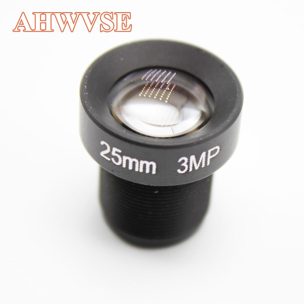 25mm cctv lente da câmera de segurança da lente de 16mm 12mm m12 2mp abertura f1.8 formato de imagem lente da câmera de vigilância para câmera ip ahd