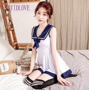 Сексуальная юбка для секса, эротический косплей, Сексуальная японская школьная форма, мини наряд, юбка, косплей, нижнее белье, женское белье,...