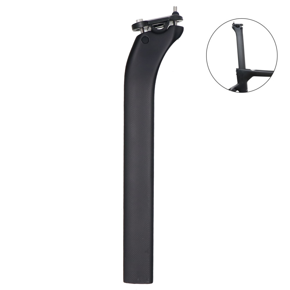 Full Carbon Road Bicycle Seatpost 0/25°Degree 22*41*340mm For ZRRO F12/F8/F10/GAN/K8/K10/Prince Cycling Seat post Bike Seat Tube