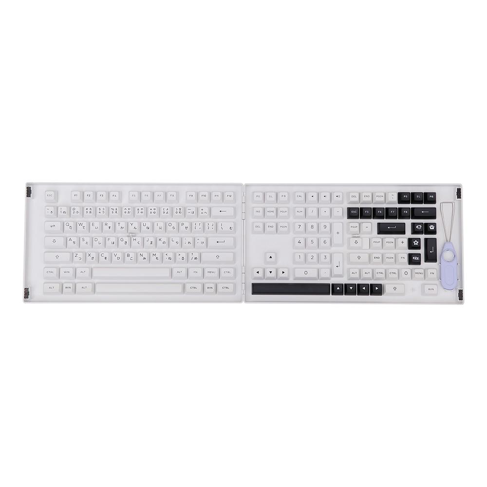 AKKO лук 158 клавиши ASA профиль PBT двойные выстрелы набор клавиш с Hiragana для механической игровой клавиатуры