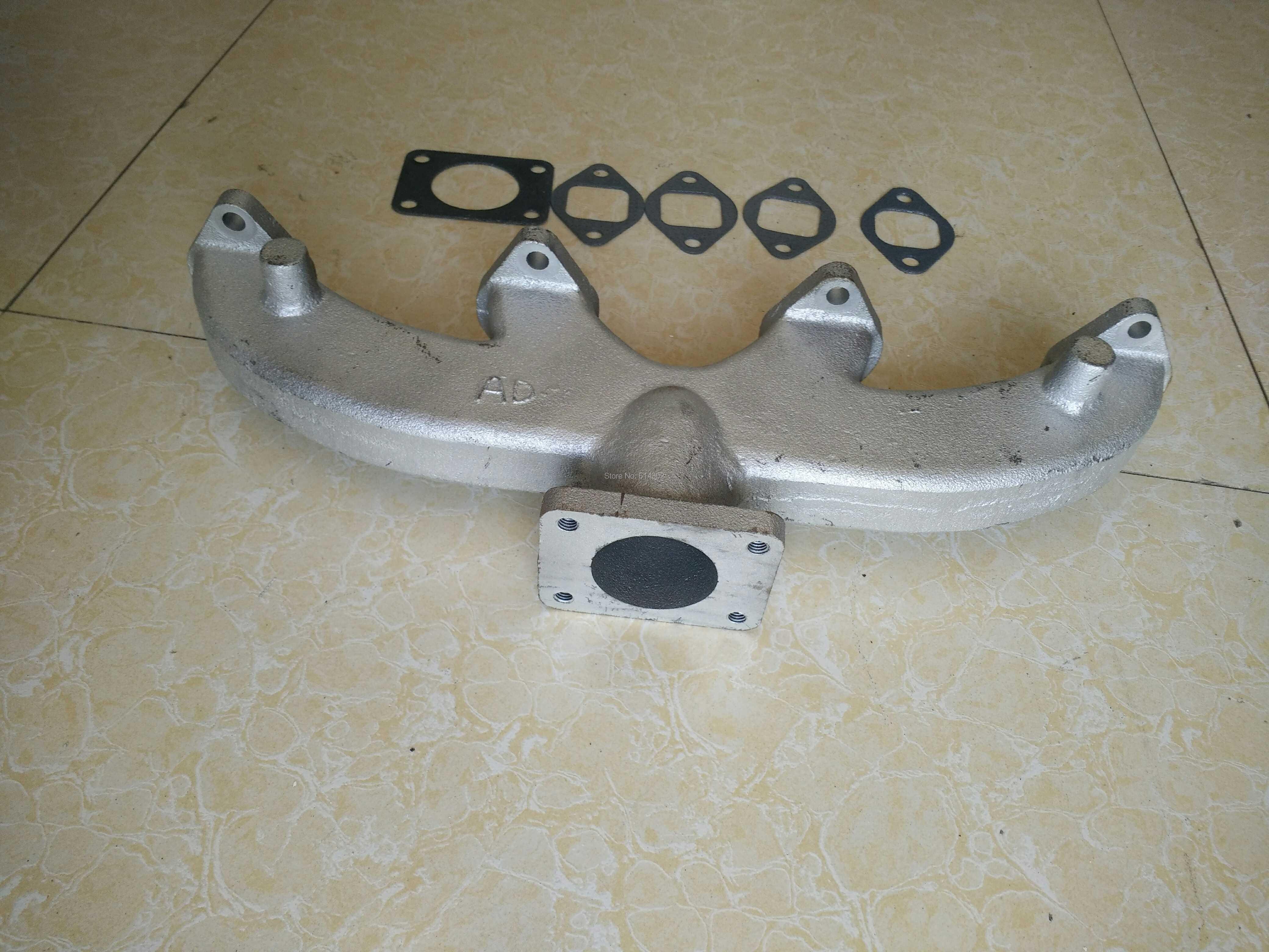 China supplier original Exhaust manifold for 495D K4100D  K4102D  diesel engine spare parts