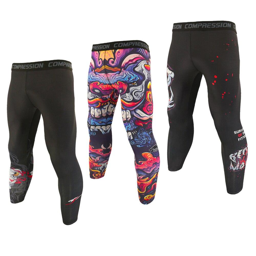 SOTF-Leggings de sport pour hommes, respirant, pantalon élastique à Compression, pantalons dentraînement au Gym, Jogging et entraînement