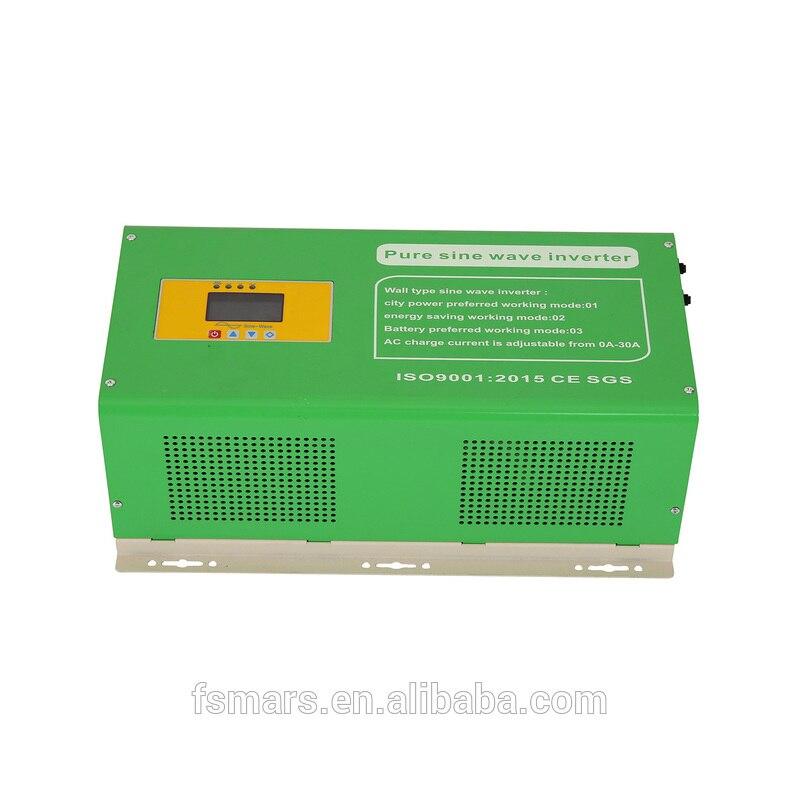 Inversor de onda sinusoidal pura de 1KW 2KW 5KW 6KW de potencia fuera de red 24VDC 48VDC a 230VAC