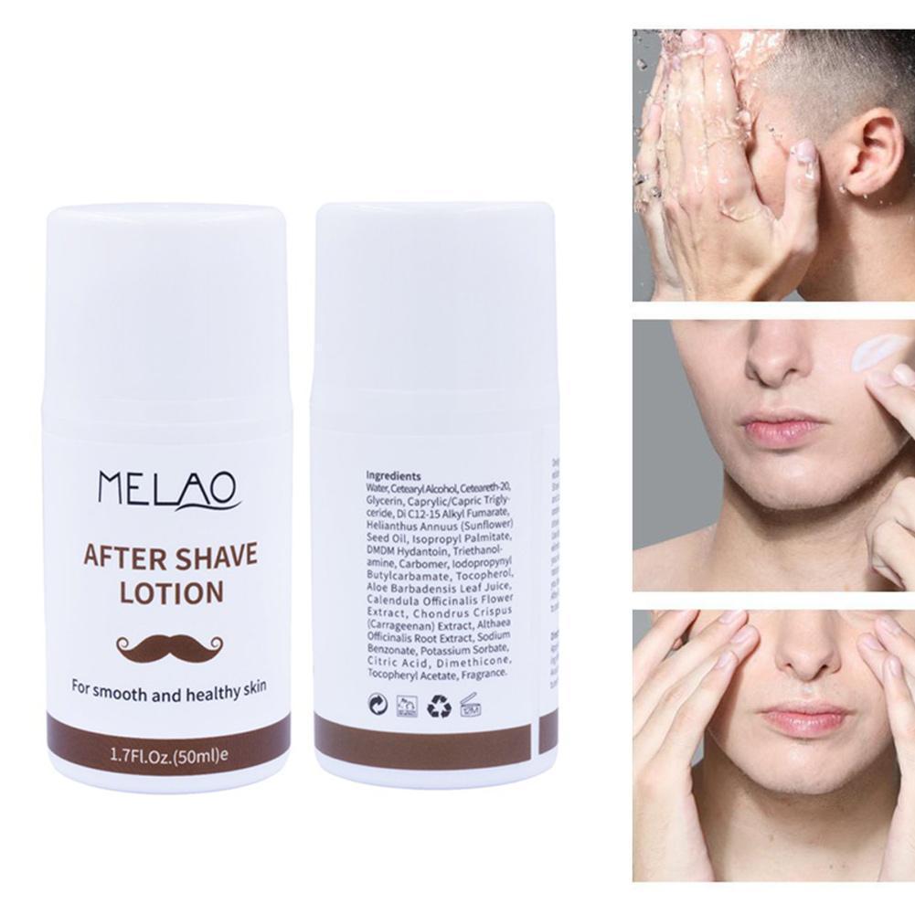 50g After Shaving Lotion Men Skin Care Face Cream Smooth Oil Balance Cream Nutrition Moisturizing Skin Whitening Cream Skin Care