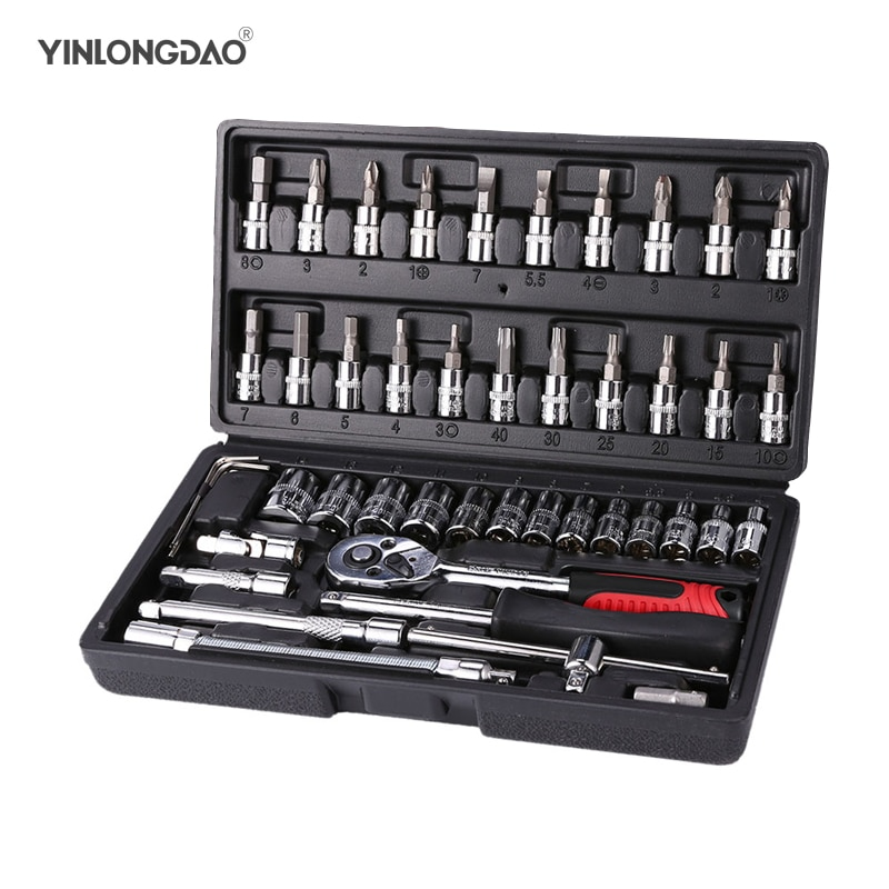hot pro skit pk 2028 household repair hand tool set electrician pliers driver bit set wrench tool kit tool box YLDAO Hand Tool Sets Car Repair Tool Kit Set Mechanical Tools Box for Home 46Pcs 1/4 Socket Wrench Set Ratchet Screwdriver Kit