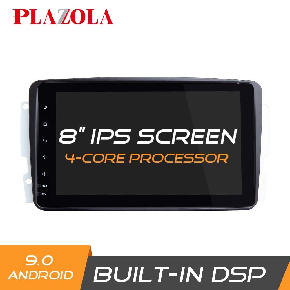 "Reproductor GPS Navi Android para coche de 8 "", estéreo, para Mercedes Benz A/C/CLK/G, clase W168 W203 W209 W463 Viano Vito W639 DSP OBD2 IPS Carplay"