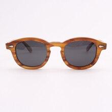 Johnny Depp Sunglasses Men Women Luxury Brand Polarized Sun Glasses Handmade Acetate Vintage Lemtosh