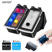 DMYON Ink Cartridge Compatible for Canon PG810 CL811 Pixma iP2770 2772 MX328 338 347 357 366 416 426 MP237 245 258 268 Printer