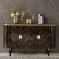 gy simple entrance cabinet affordable luxury style living room entrance shoe cabinet integrated solid wood partition decoration