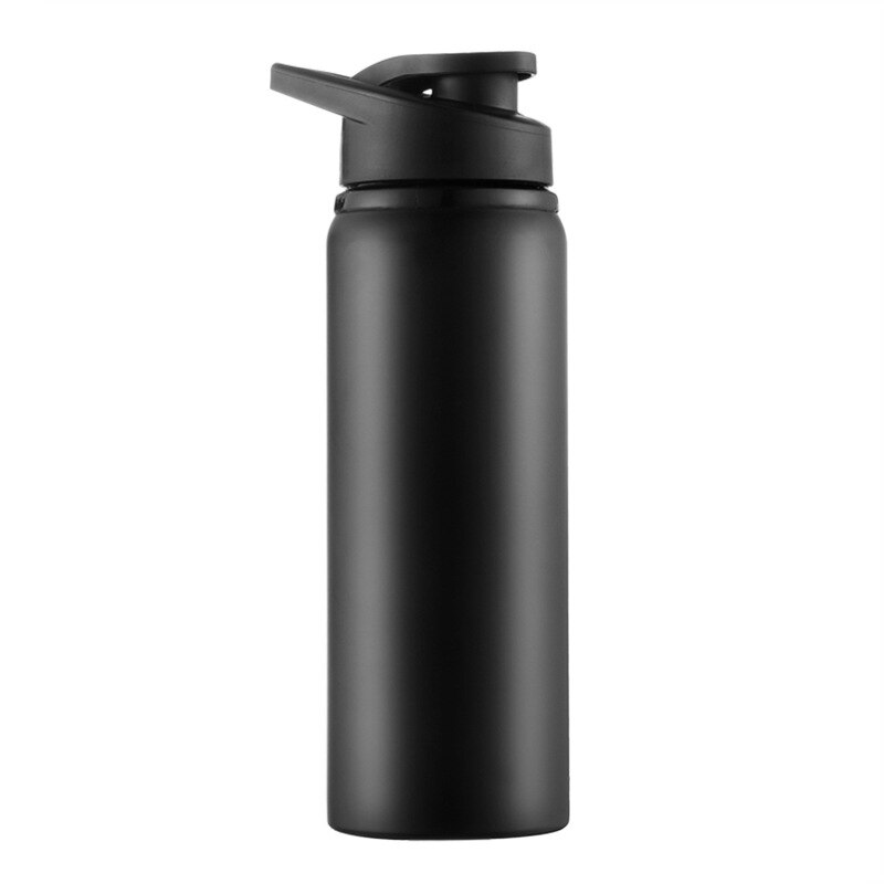 Botella deportiva de acero inoxidable, hervidor de agua directo para bicicleta, recipiente deportivo para exteriores