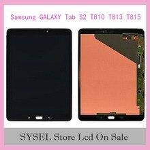 Pour Samsung GALAXY Tab S2 T810 T813 T815 LCD écran tactile capteurs de numériseur panneau dassemblage complet