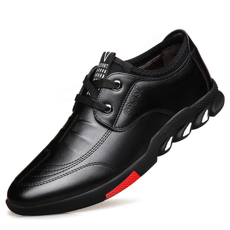 أحذية من الجلد الرجال جلد البقر 2021 ربيع جديد رجال الأعمال عادية تنفس عدم الانزلاق لينة أسفل كل مباراة أحذية رجالي