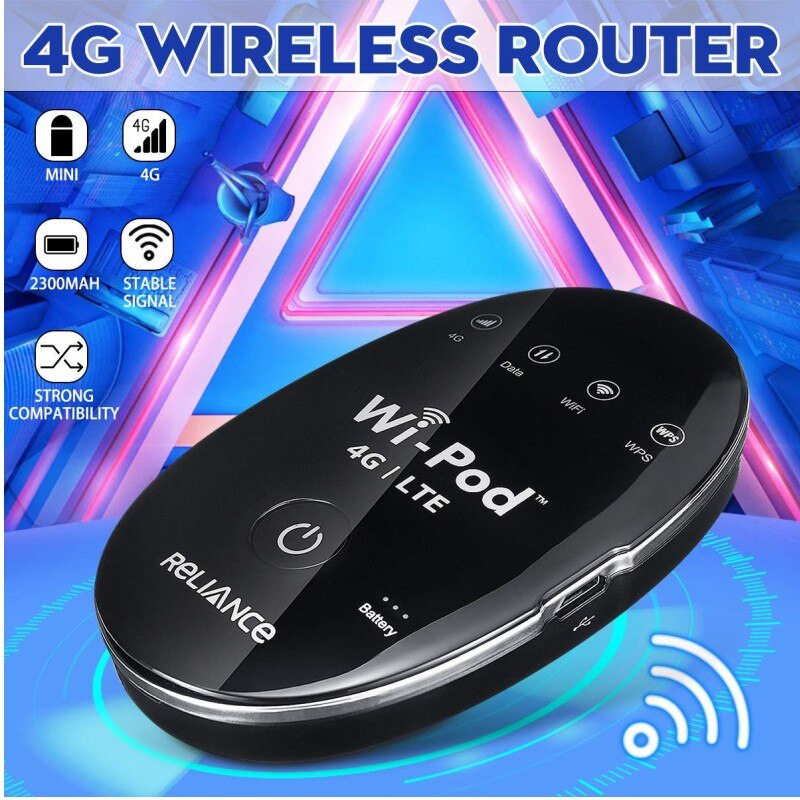 (2pcs battery)New Products 150Mbps ZTE WD670 WI POD Portable 4G LTE Mini WiFi Router