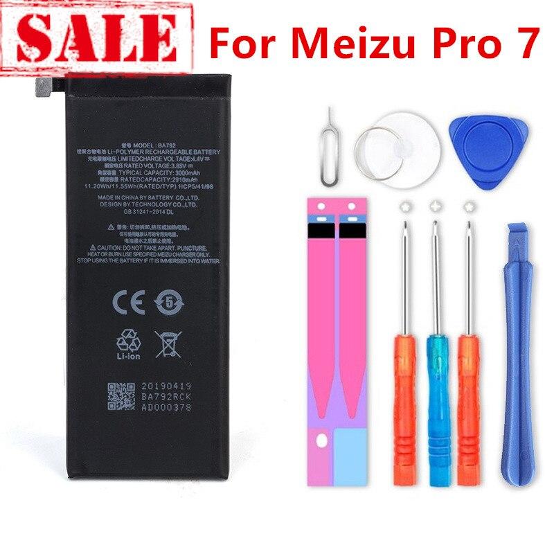 Nueva batería BA792 3900mAh para Meizu Pro 7 M792C M792C-L M792M-L M792Q batería de M792Q-L + número de seguimiento