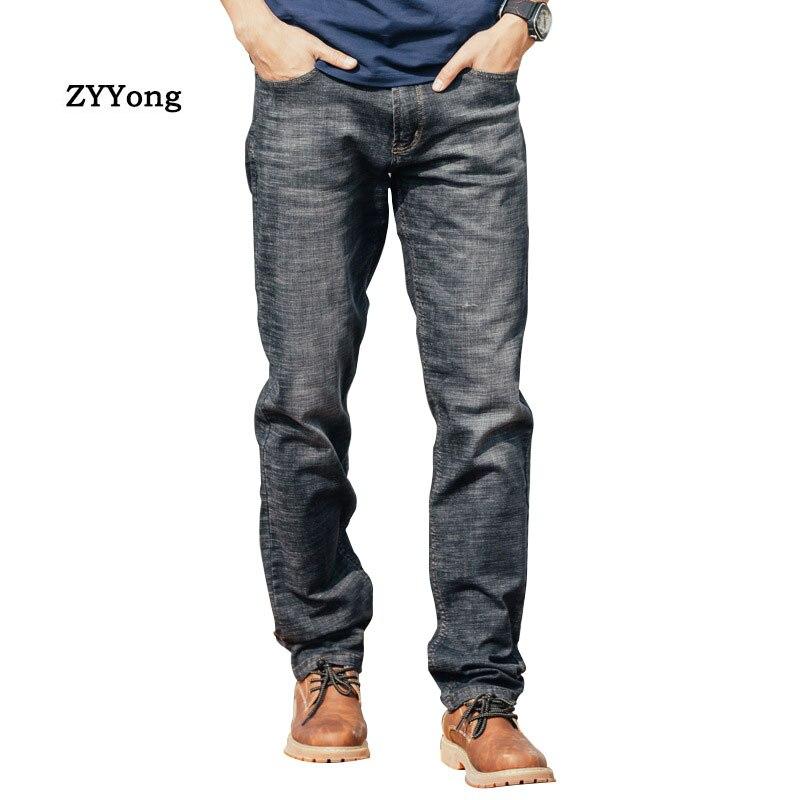 Ретро мужские Модные джинсы прямые Свободные Мешковатые гарем эластичные джинсовые штаны хип хоп повседневные хлопковые дышащие широкие ч...