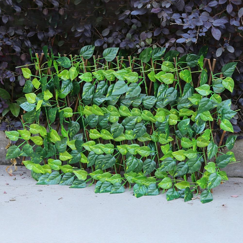 Pagar kebun tiruan yang boleh ditarik balik yang boleh diperluas faux - Peralatan berkebun - Foto 5