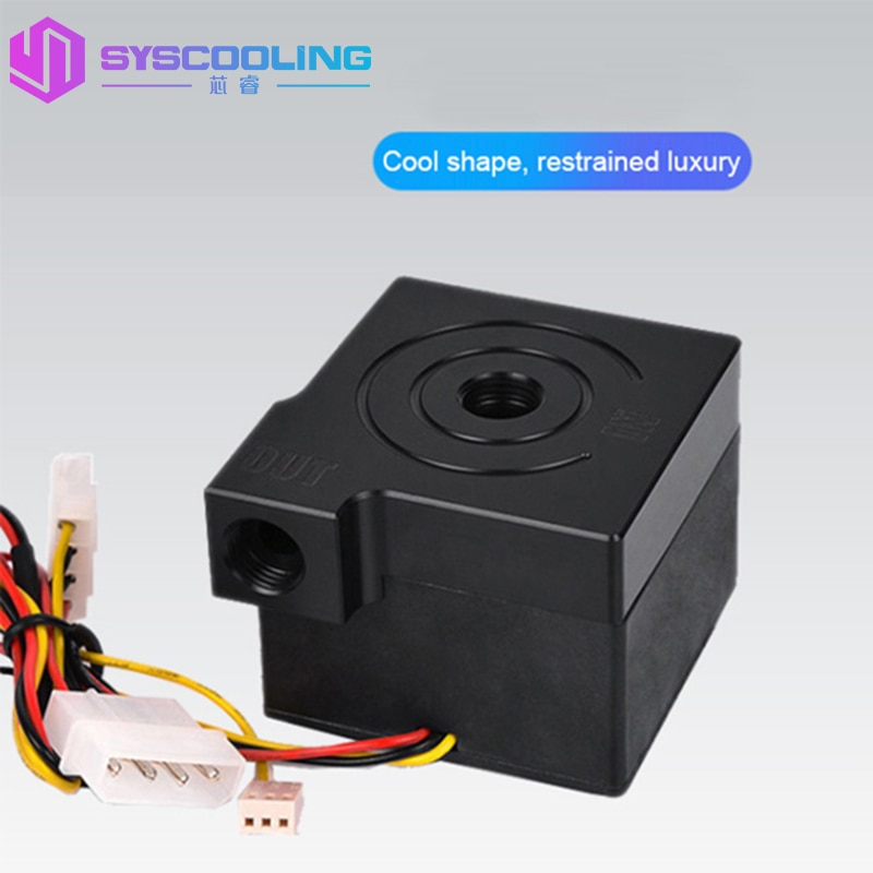 SYSCOOLING P70A Silent 12V Computer Water Cooler Water Cooling Heat Circulation Pump Manual Speed Computer Water Cooling Pump