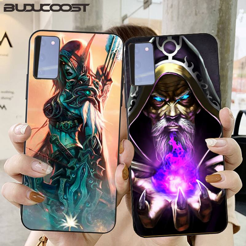 Riccu WOW World of Warcraft III funda de teléfono de lujo para Samsung Galaxy S6 7 8 9 10 20 S6 7 plus S9 10 plus Elite S20 UITRA